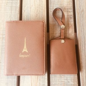 Naturalizer Passport holder and luggage tag✨